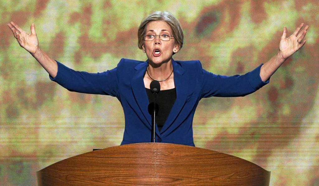 La senadora de Massachusetts, Elizabeth Warren.