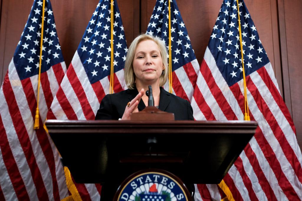 La senadora Kirsten Gillibrand.