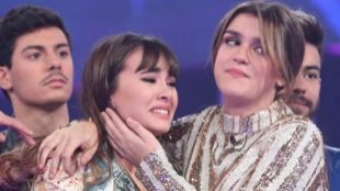 Aitana y Amaia, durante una de las galas de OT.