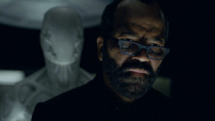 El actor Jeffrey Wright, en la serie 'Westworld'.