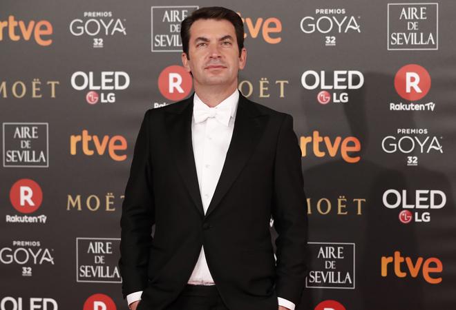 Arturo Valls, durante la gala de los Goya de este fin de semana.