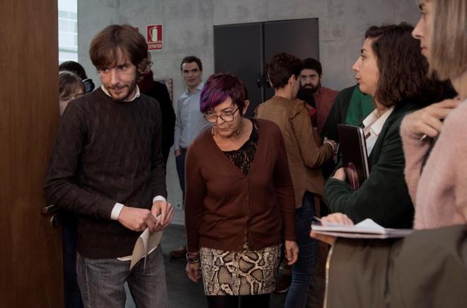 Los ex portavoces de Podemos en Navarra, Mikel Buil y Tere Sáez