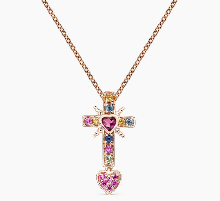 Cruz de la colección Los Amuletos de Frida, de Suarez, una joya...