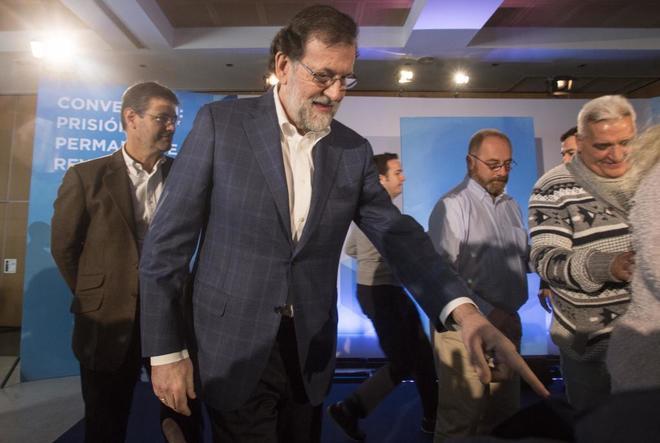 El presidente del Gobierno, Mariano Rajoy, en un acto en Córdoba