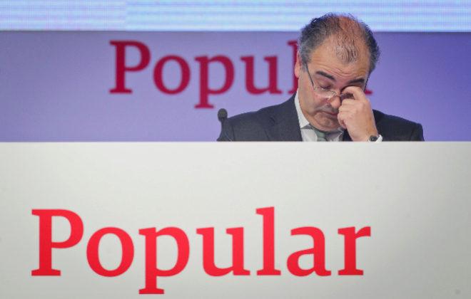 Ángel Ron, expresidente del Banco Popular.
