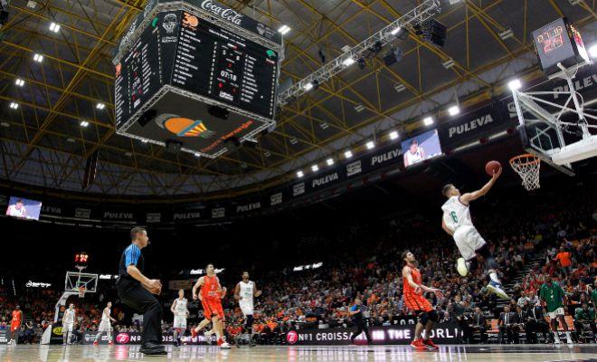 El Gran Pabellon Del Valencia Basket Pegado A La Fonteta