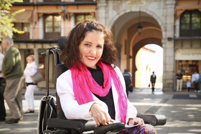 La senadora de Podemos, Virginia Felipe