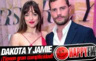 EL James, escritora de '50 Sombras', habla de la gran química entre Dakota Johnson y Jamie Dornan