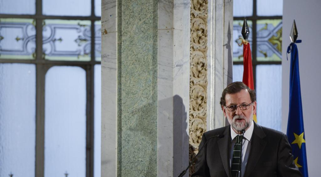 Mariano Rajoy, este jueves en el Foro ABC.