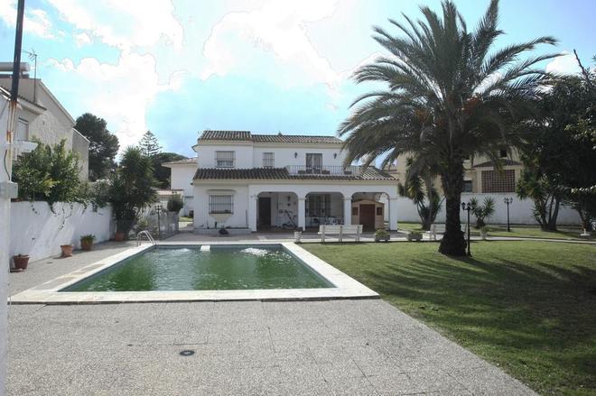 Vivienda en una urbanización de Algeciras (Cádiz) en la que fue...
