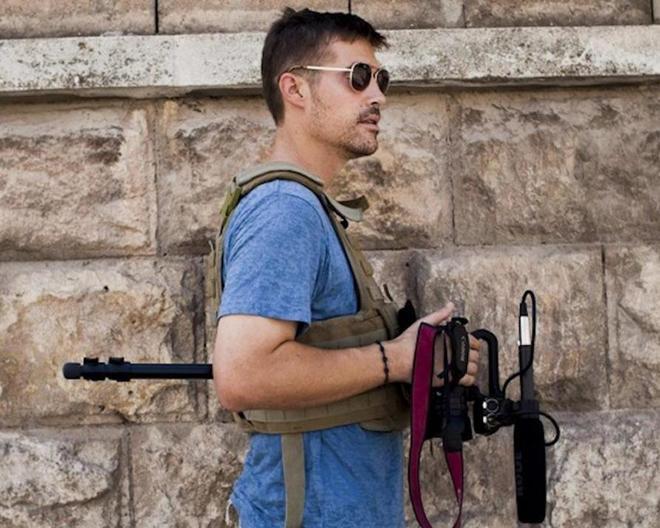 El periodista estadounidense James Foley, asesinado por uno de 'los Beatles' yihadistas en 2014.