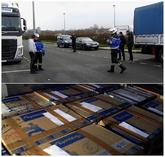Material perteneciente a ETA entregado por el Gobierno francés a...