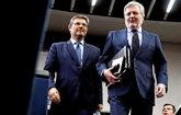 El ministro de Justicia y el portavoz del Gobierno, Rafael Catalá e...