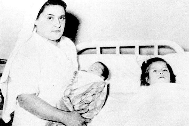 El bebé fue bautizado Gerardo en homenaje al medico que atendió el parto.
