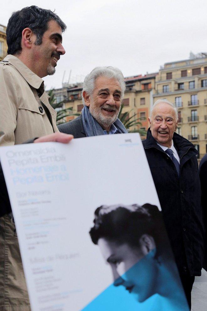 Plácido Domingo dirigirá al Orfeón Donostiarra en el homenaje de San Sebastián a su madre