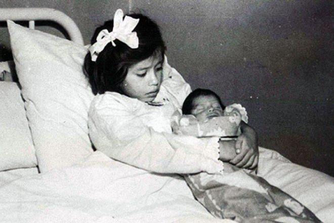080d1bff7 Lina medía 110 cm y tenía aún dientes de leche. Su hijo nació el día de la  madre de Perú en 1939. CRÓNICA