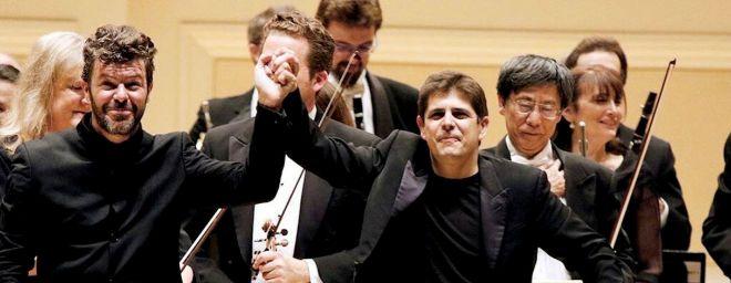 Pablo Heras-Casado y Javier Perianes: la amistad de dos españoles en el top de la música