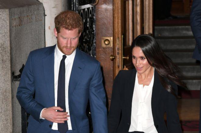 La pareja formada por el príncipe Harry y Meghan Markle, en una imagen reciente.
