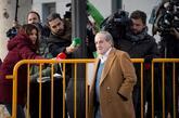 José María García, a su llegada a la Audiencia Nacional.