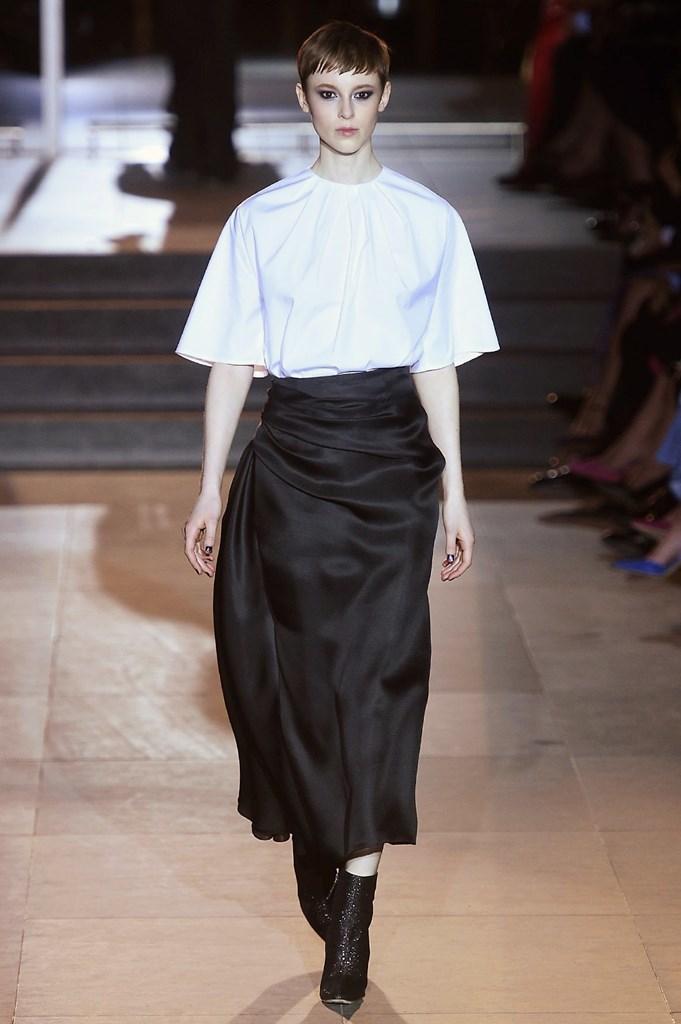 Desfile de Carolina Herrera - Nueva York Fashion Week -...