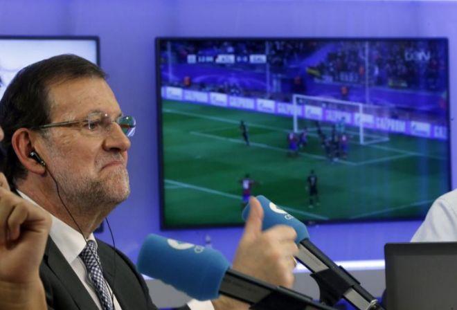 Rajoy, en una participación en Tiempo de Juego de la Cope.
