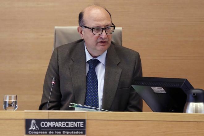 Ramón Álvarez de Miranda, presidente del Tribunal de Cuentas,...