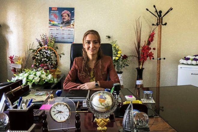 Desde hace unos meses Lara Yusef dirige las riendas de Al Qosh, un pueblecito del norte de Irak.
