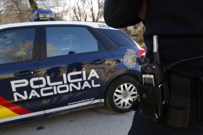 Agentes de la Policía Nacional de Madrid.