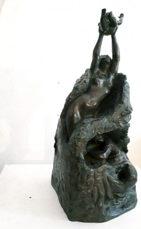 Una escultura de La Balanguera de Jaume Mir se instalará en Bruselas, cerca del Parlamento Europeo