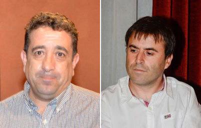 Miguel Cerezo y Andrés Rojo, los dos representantes de Ciudadanos en...