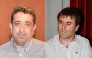 Miguel Cerezo y Andrés Rojo, los dos representantes de Ciudadanos en el Ayuntamiento de Manresa.