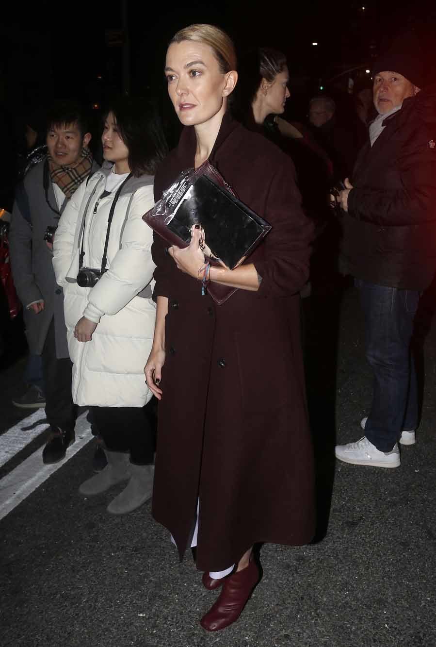 Marta Ortega en el desfile de Calvin Klein - Nueva York Fashion Week