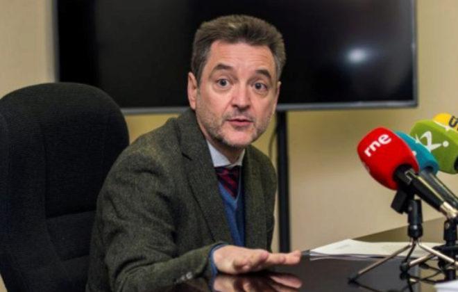 El presidente de la Asociación Profesional de la Magistratura, Manuel...