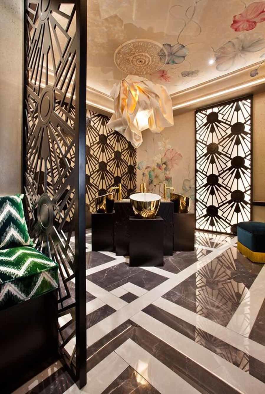 Techos decorados con tonos suaves casa decor 2018 for Techos decorados