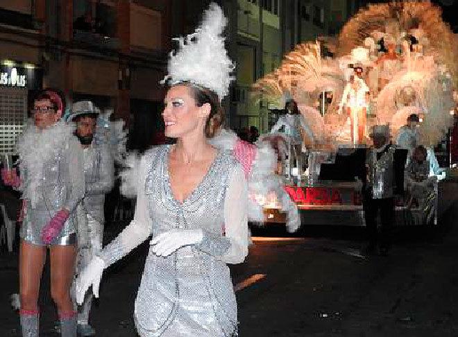 Uno de los desfiles de Carnaval celebrado este fin de semana.