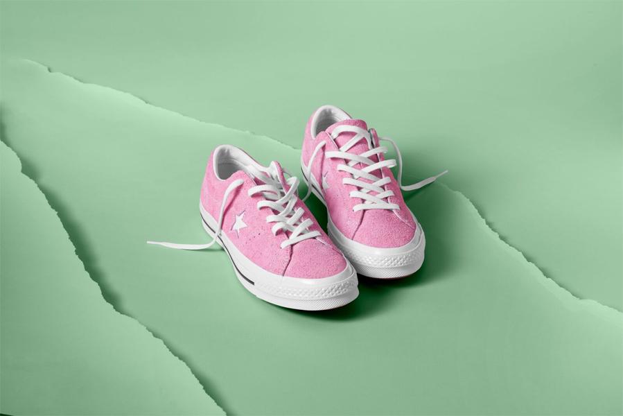 zapatillas converse rosa chicle