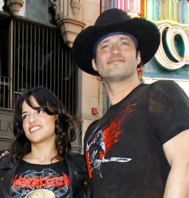 Robert y Michelle Rodríguez en una imagen de archivo