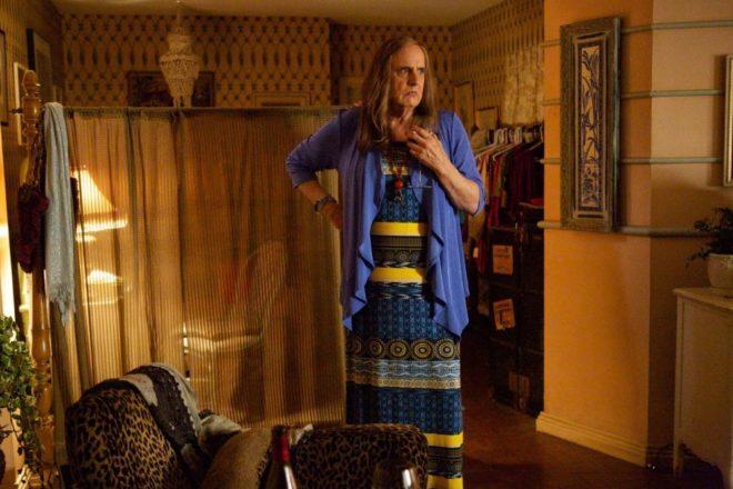Jeffrey Tambor interpreta a la transexual Maura en la serie Transparent'.