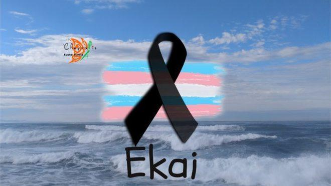 Imagen con la que la asociación Chrysallis recuerda a Ekain en su página web.