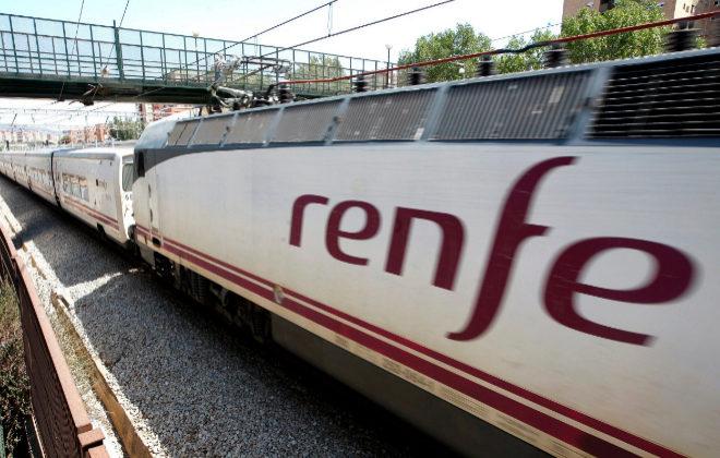 Estación de Renfe en Barcelona