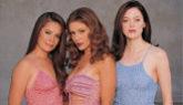 La antiguas 'embrujadas' Holly Marie Combs (izquierda), Alyssa Milano...