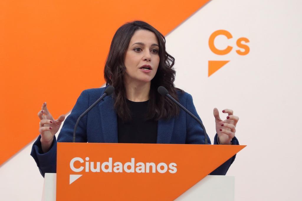 La líder catalana de Ciudadanos, Inés Arrimadas, en una imagen de archivo