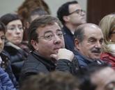El presidente de Extremadura, Guillermo Fernández Vara, en el Comité...