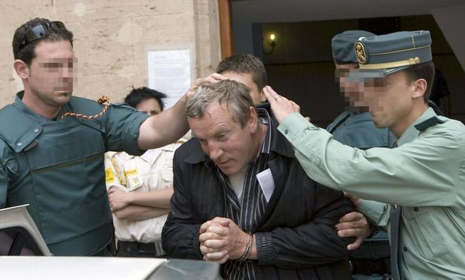 El líder de la 'Tambovskaya', Gennadios Petrov, tras declarar ante el...