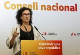 Marta Rovira, diputada autonómica y secretaria general de ERC, en una...