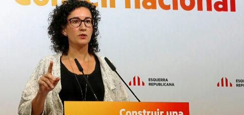 Marta Rovira, diputada autonómica y secretaria general de ERC.