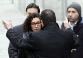 Marta Rovira, secretaria general de ERC, a su llegada al Tribunal...