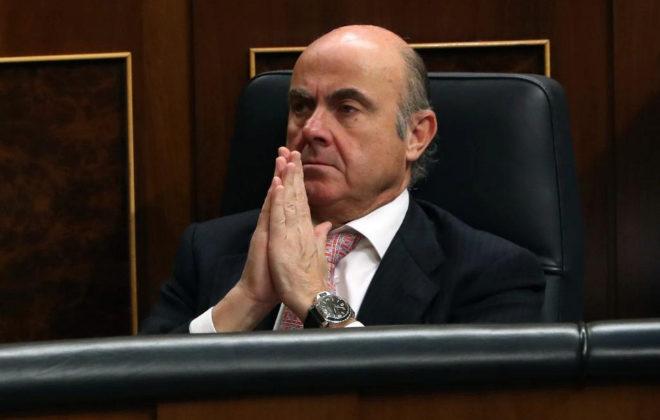 El ministro de Economía de España, Luis de Guindos.