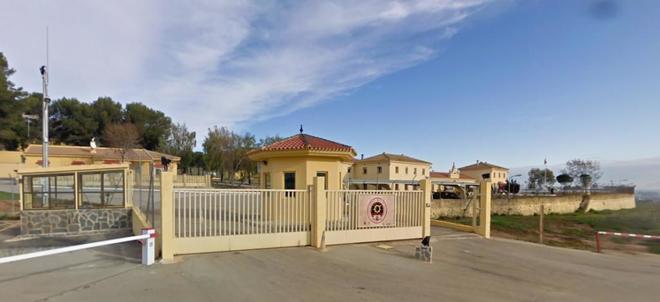 Base aérea del Ejército del Aire en Antequera (Málaga), donde se...