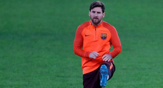 """""""Nunca había visto a Messi tanto en el gimnasio"""""""